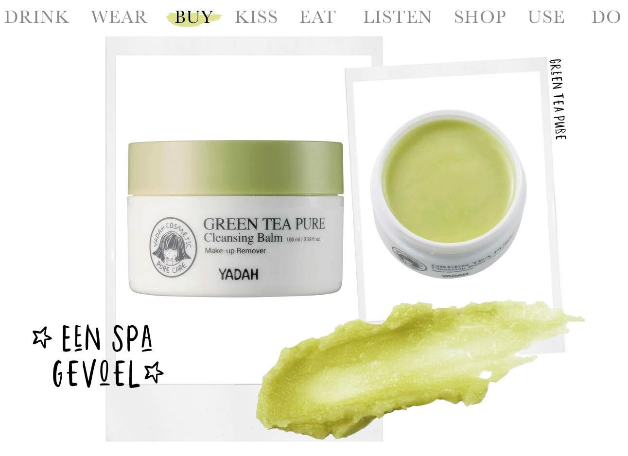 Today we buy green tea pure