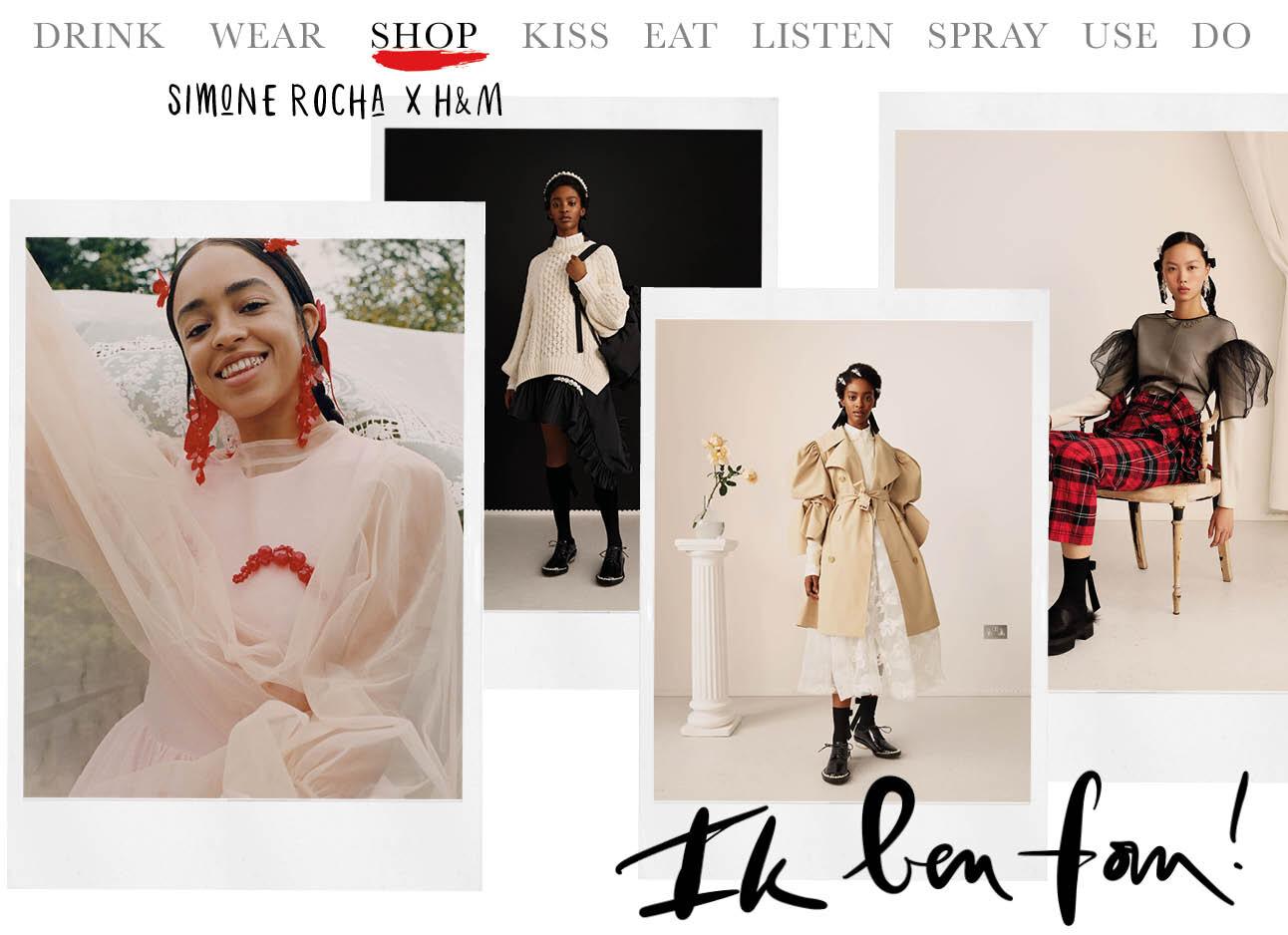 Today we shop: Simon Rocha x H&M