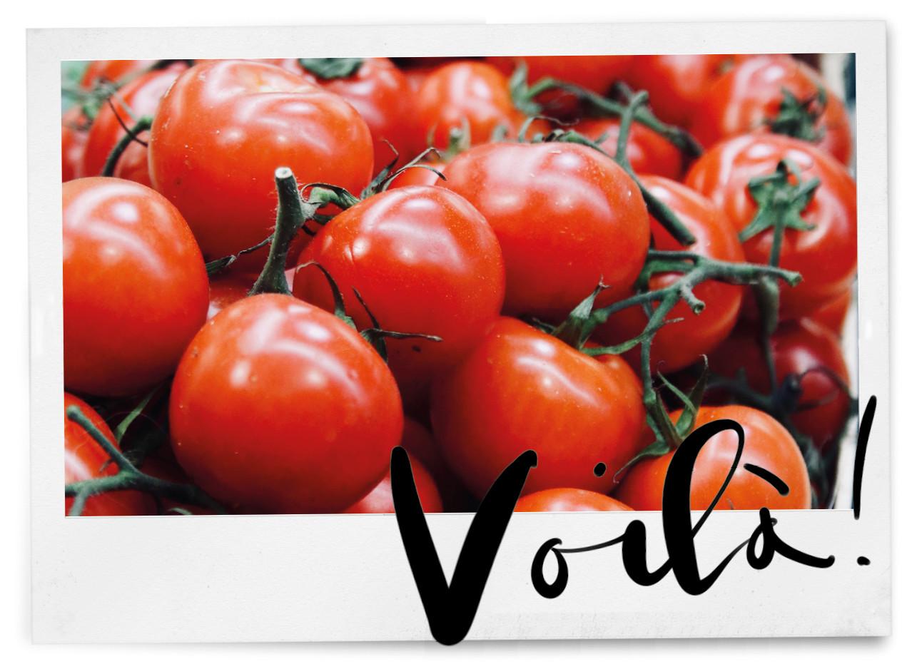 Hoe heurt het: een tomaat snijden