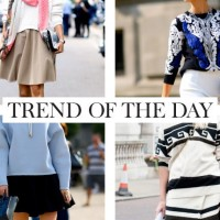 Trend of the day trui op rok