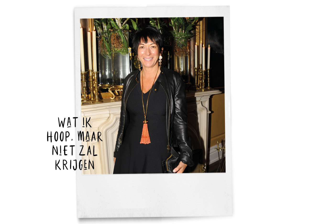 Over Ghislaine Maxwell