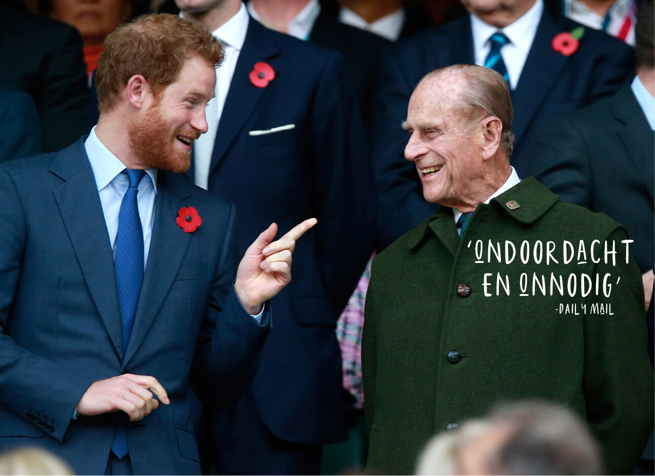 Harry en Prins Philip