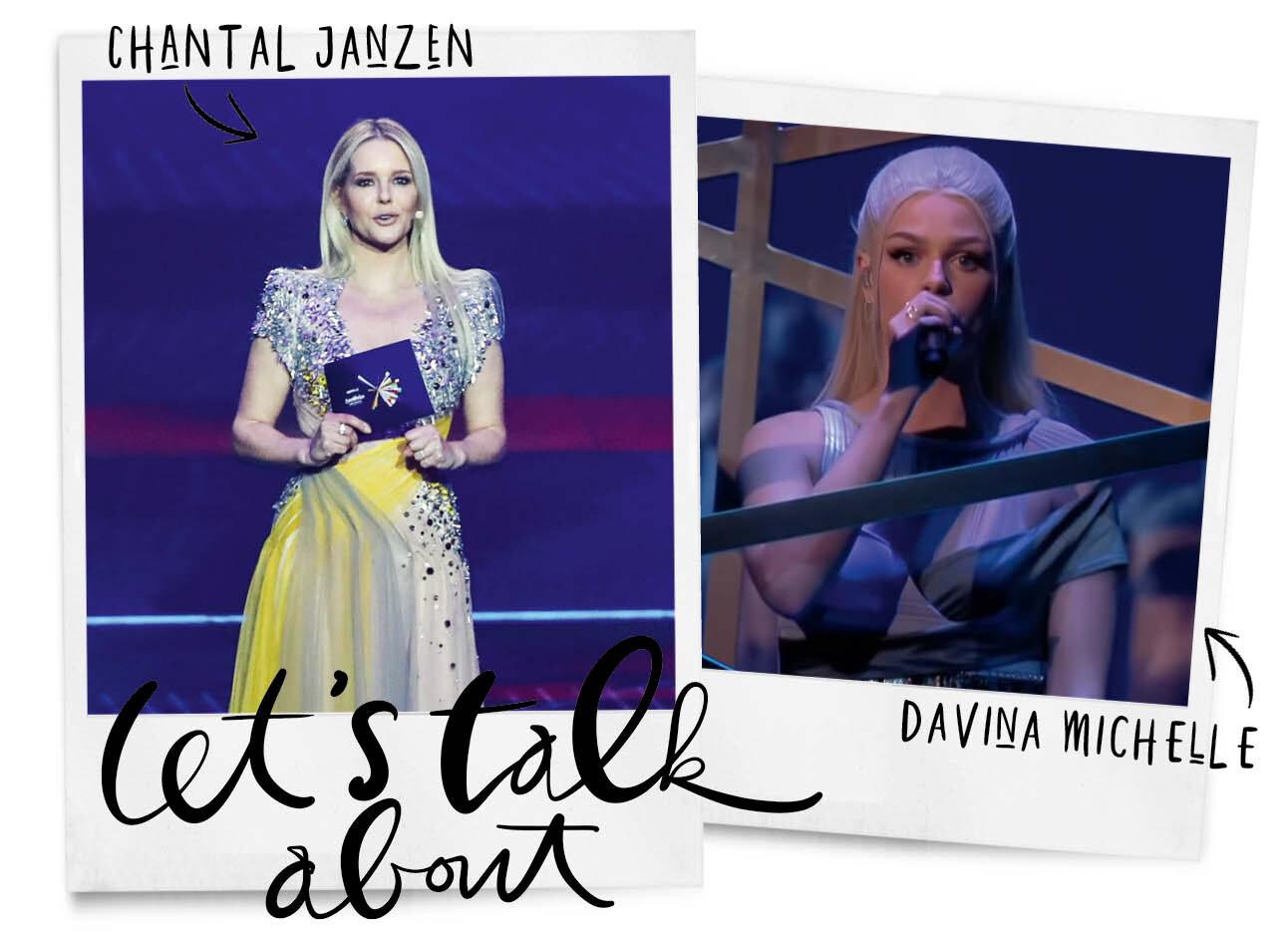 Even napraten over Chantal en Davina