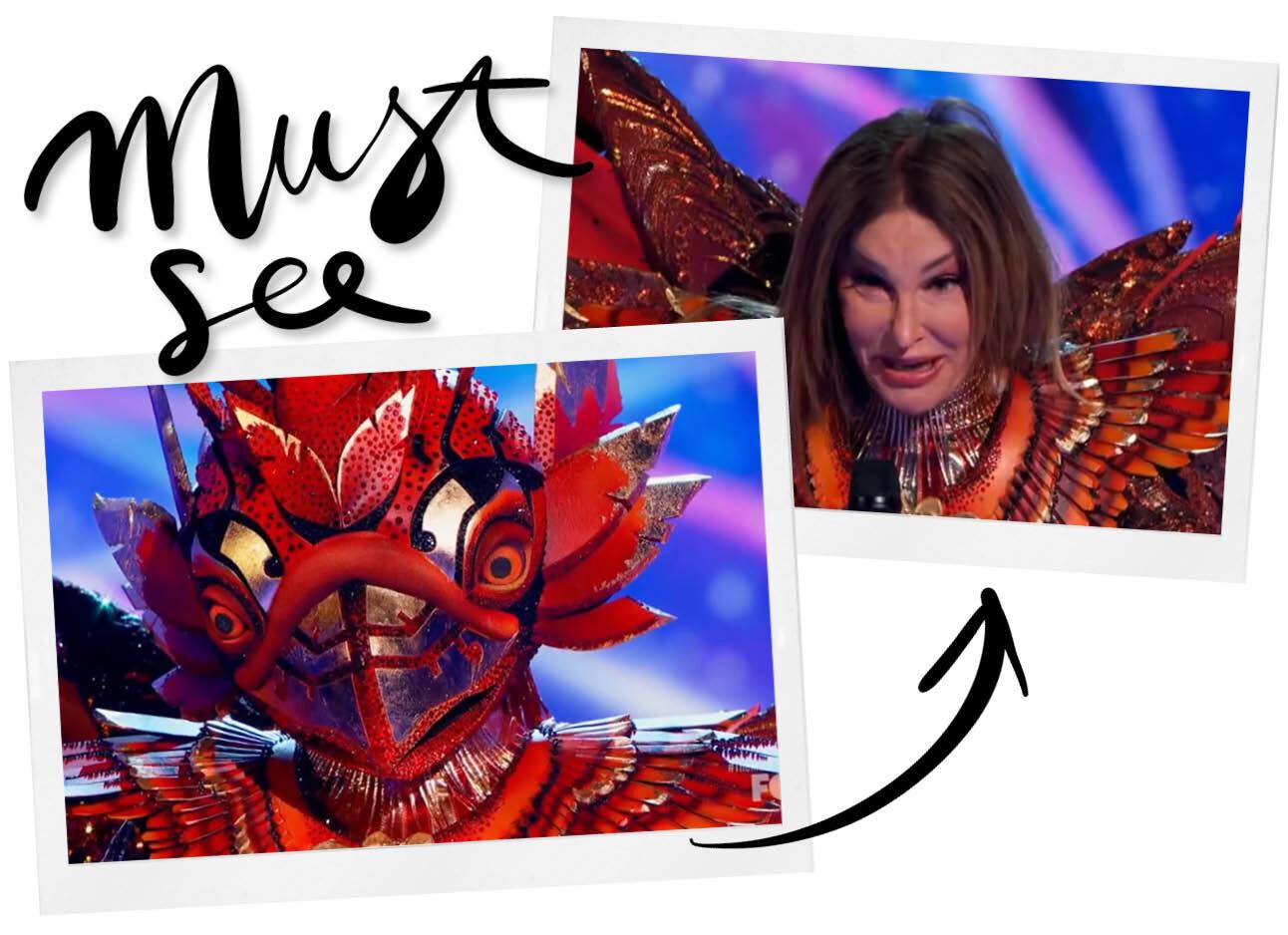 Caitlyn Jenner die bij The Masked Singer optreedt is het leukste wat je vandaag gaat zien