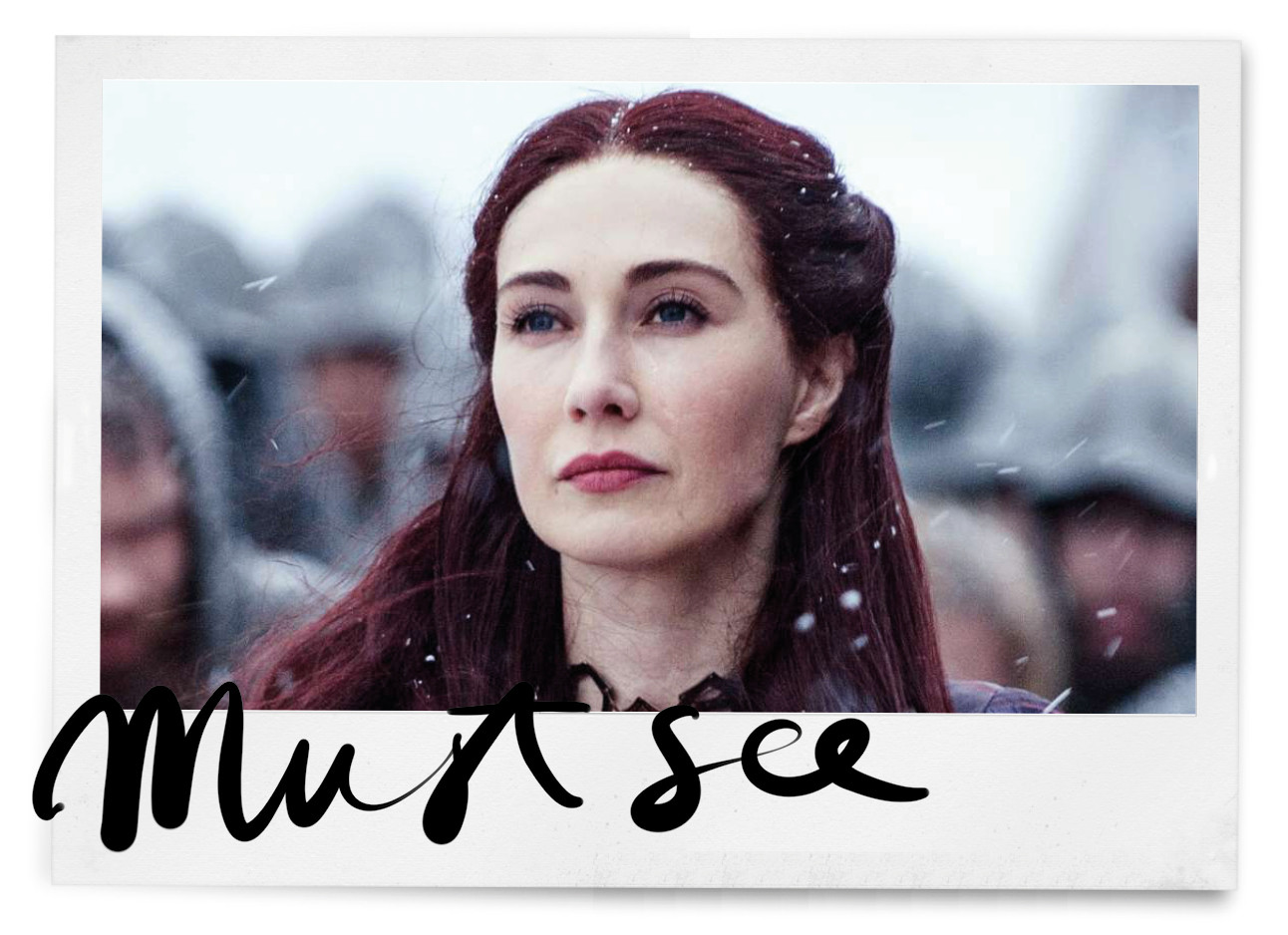 trending topic over de recap van game of thrones met in de hoofdrol care van houten als de red lady melisandre