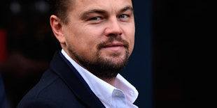 Leonardo Dicaprio is in het land