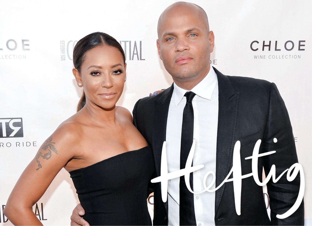 Mel B met haar Ex man