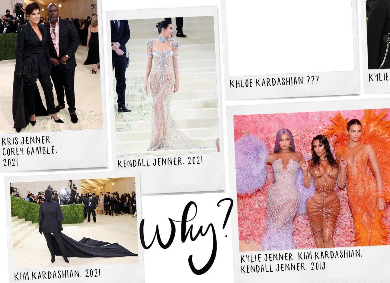 Waarom Khloe Kardashian nooit wordt uitgenodigd naar het MET gala