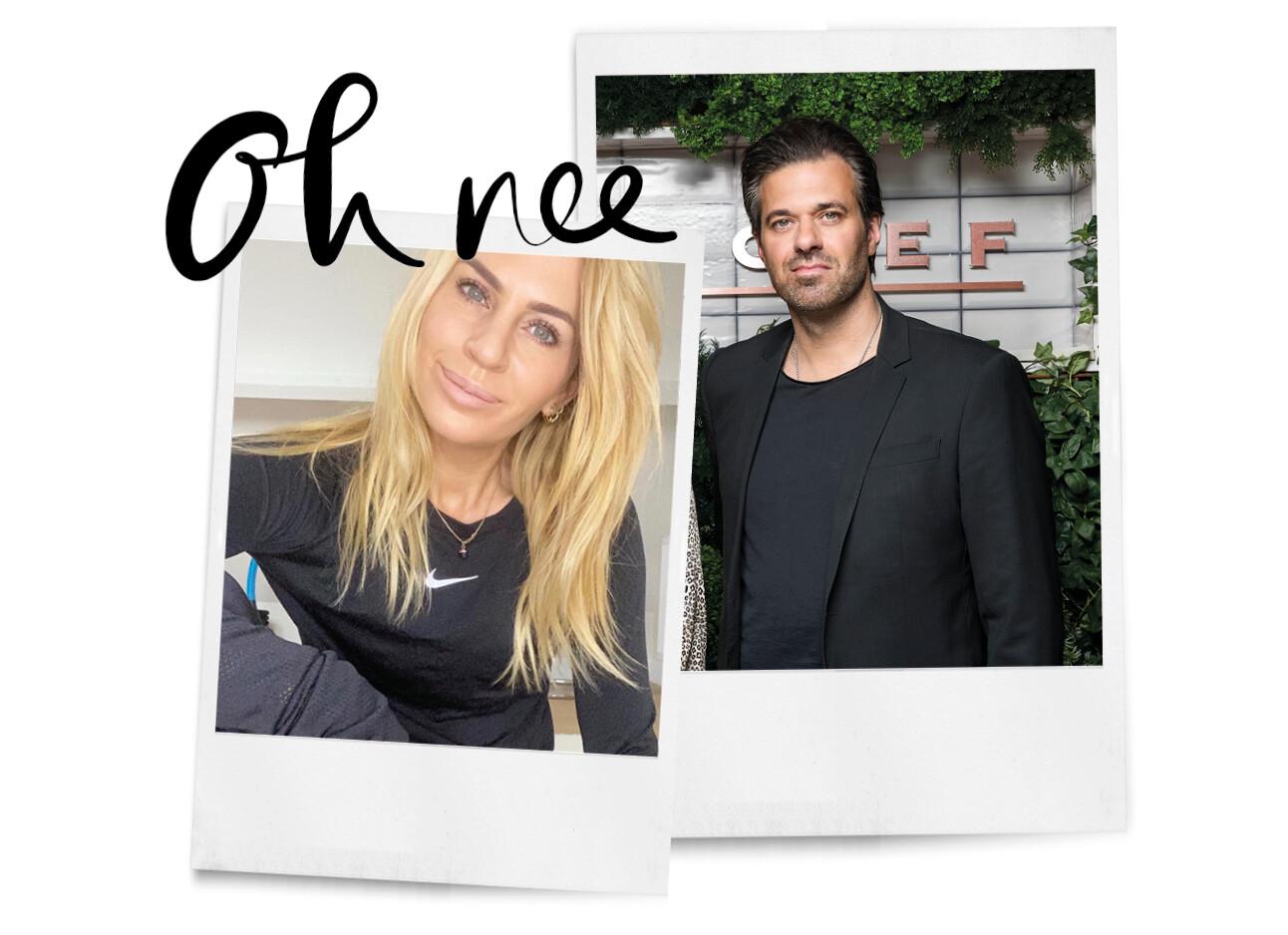 Sergio Herman en Ellemieke Vermolen na dertien jaar uit elkaar