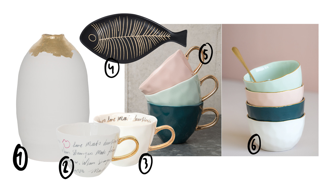de giveaway met servies van urban nature