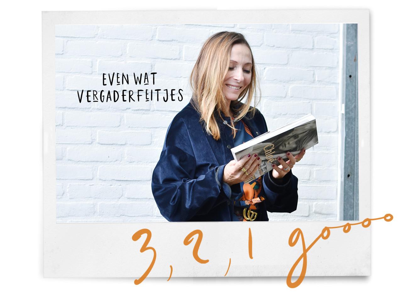 May lachend naar Amayzine magazine lachend buiten