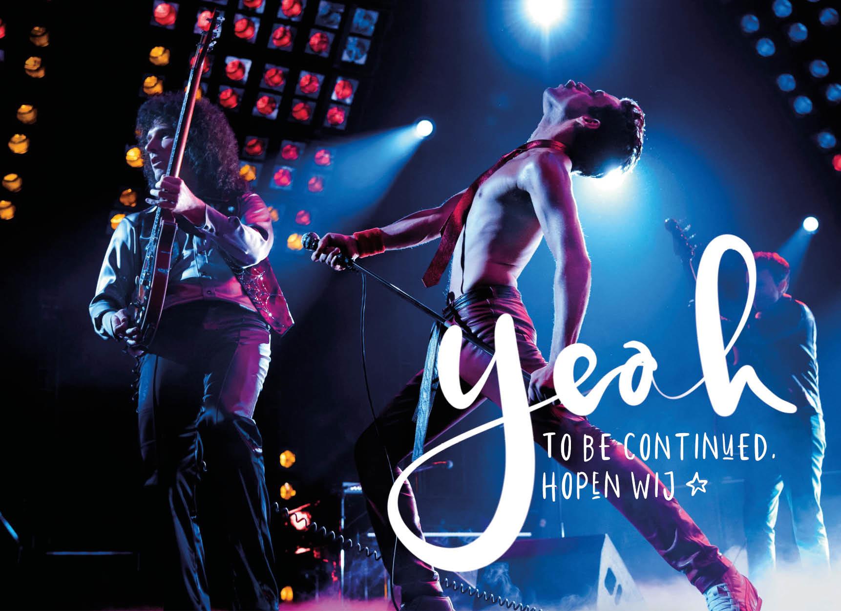 Het is bijna zeker: Bohemian Rhapsody krijgt een vervolg