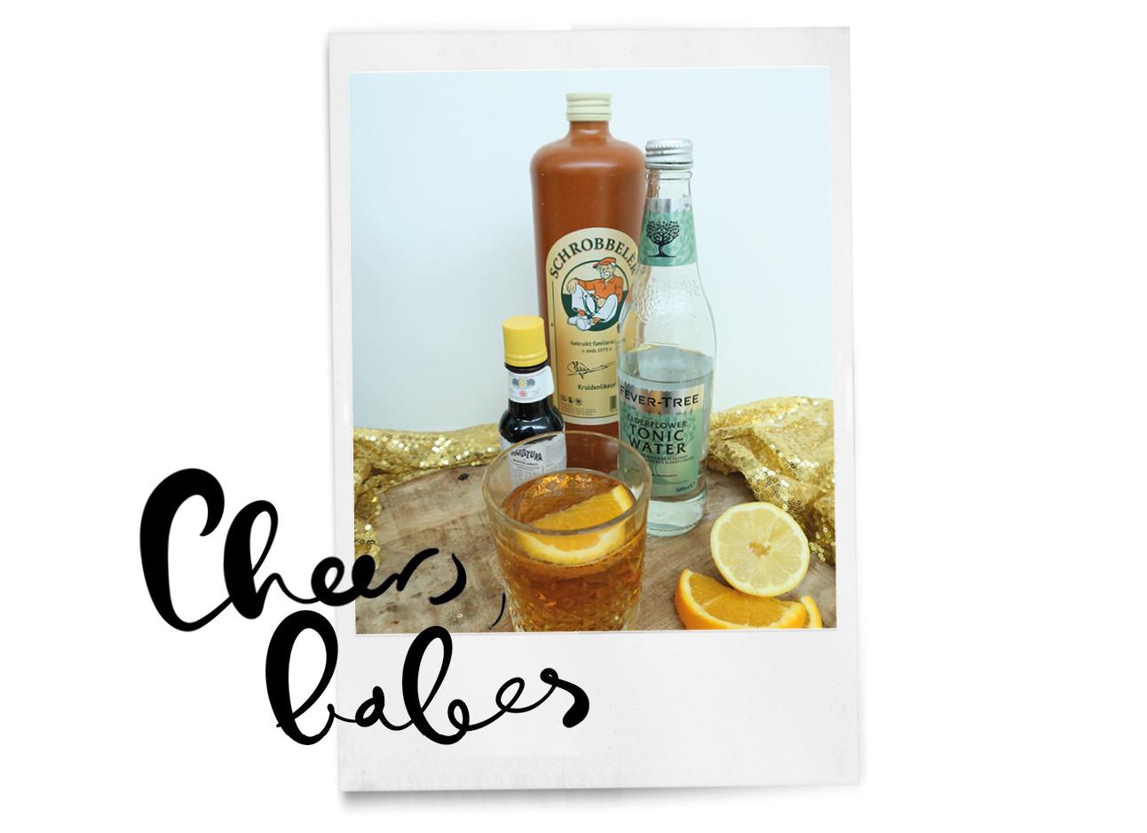cocktail met schrobbeler