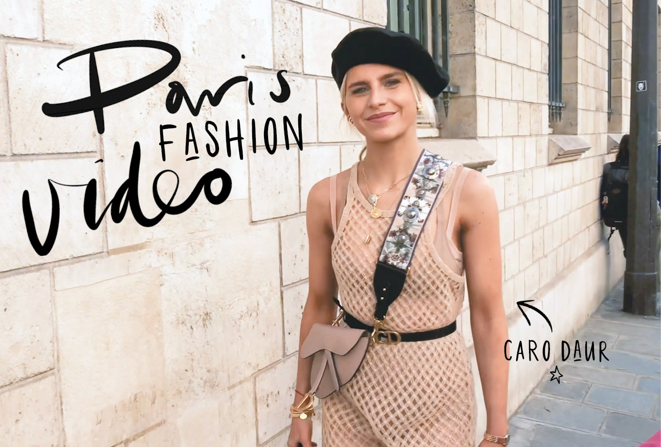 caro daur paris fashionweek