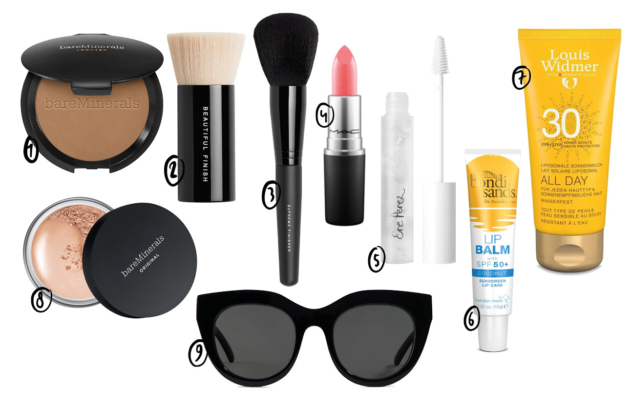 beauty shopping items Bareminerals