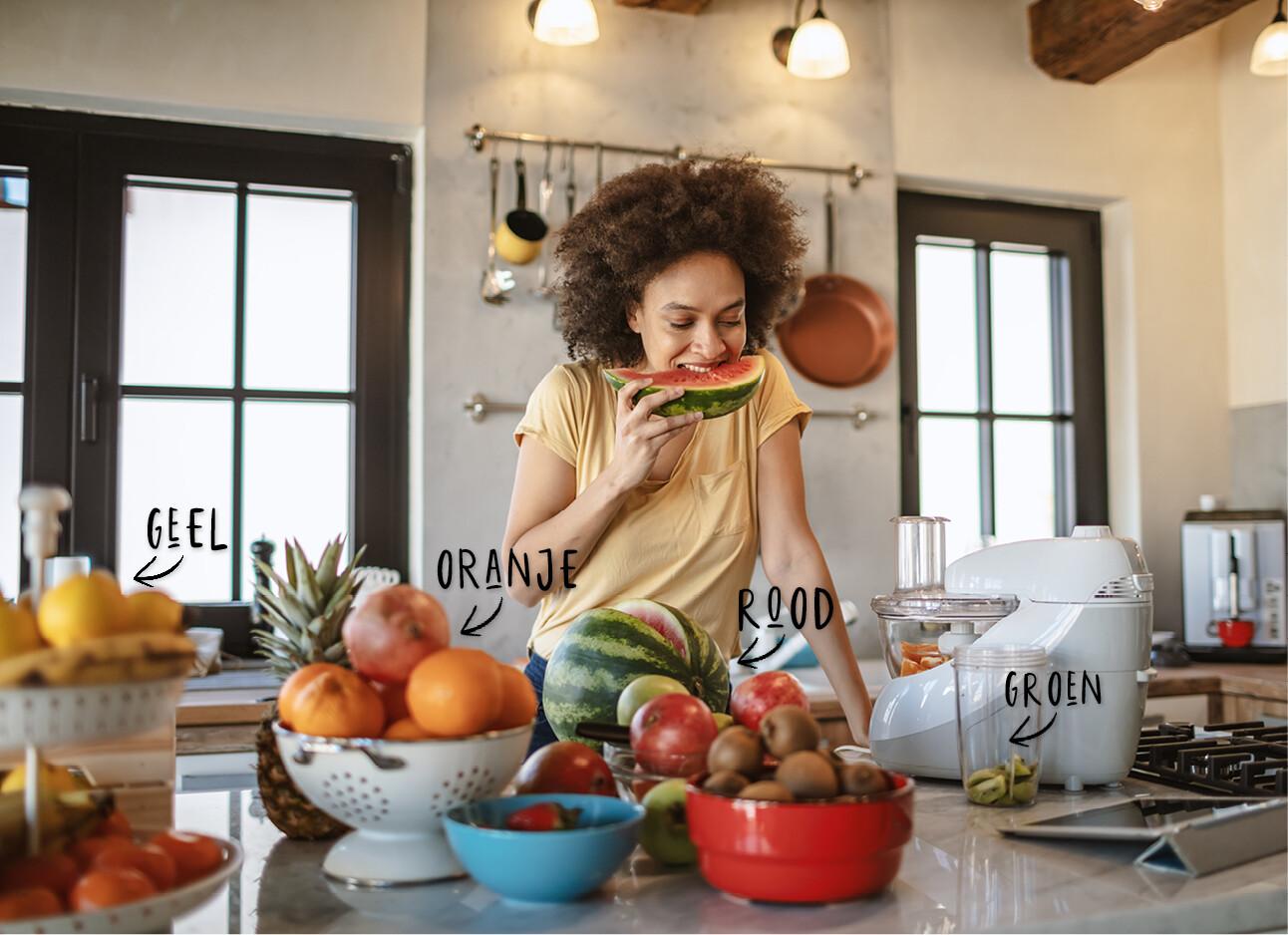 voeding eten kleuren