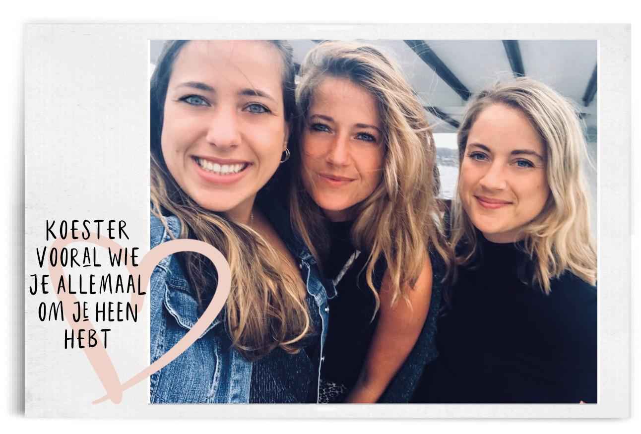 Tessa met zussen