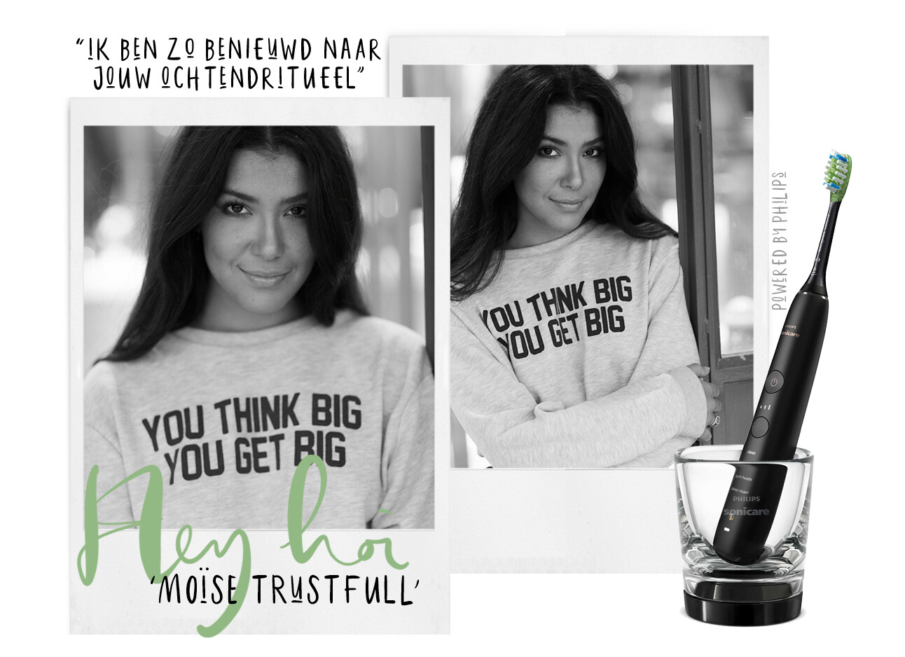 Wake up with… Moïse Trustfull