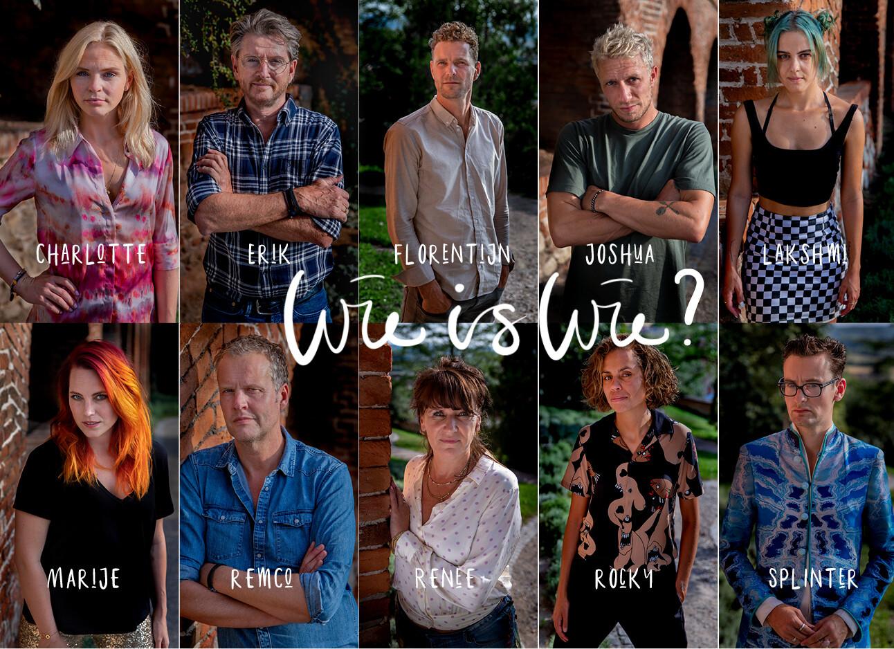 Wie is wie in Wie Is De Mol?