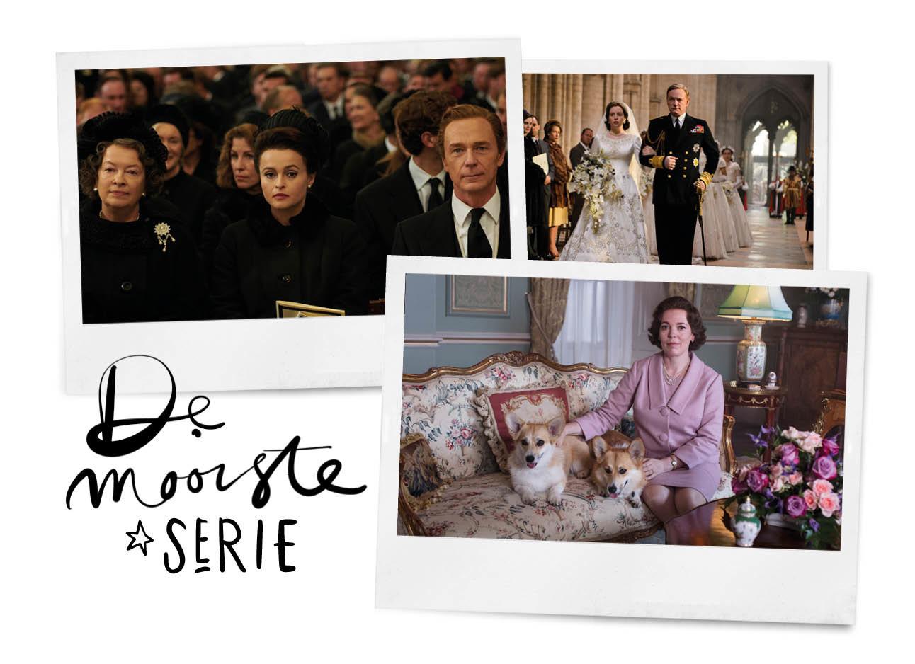 beelden van het 3de seizoen van the crown