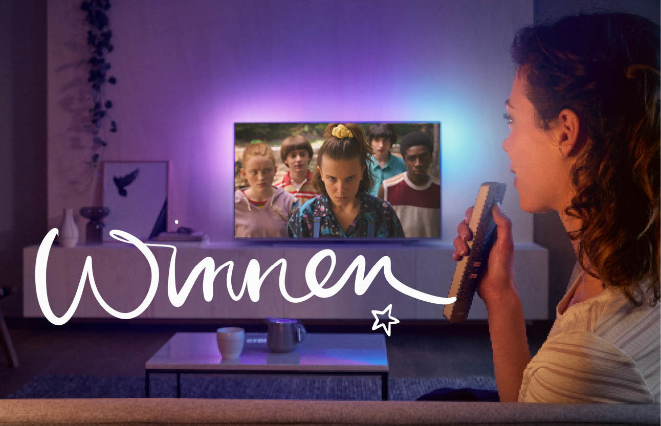 winactie philips tv stranger things