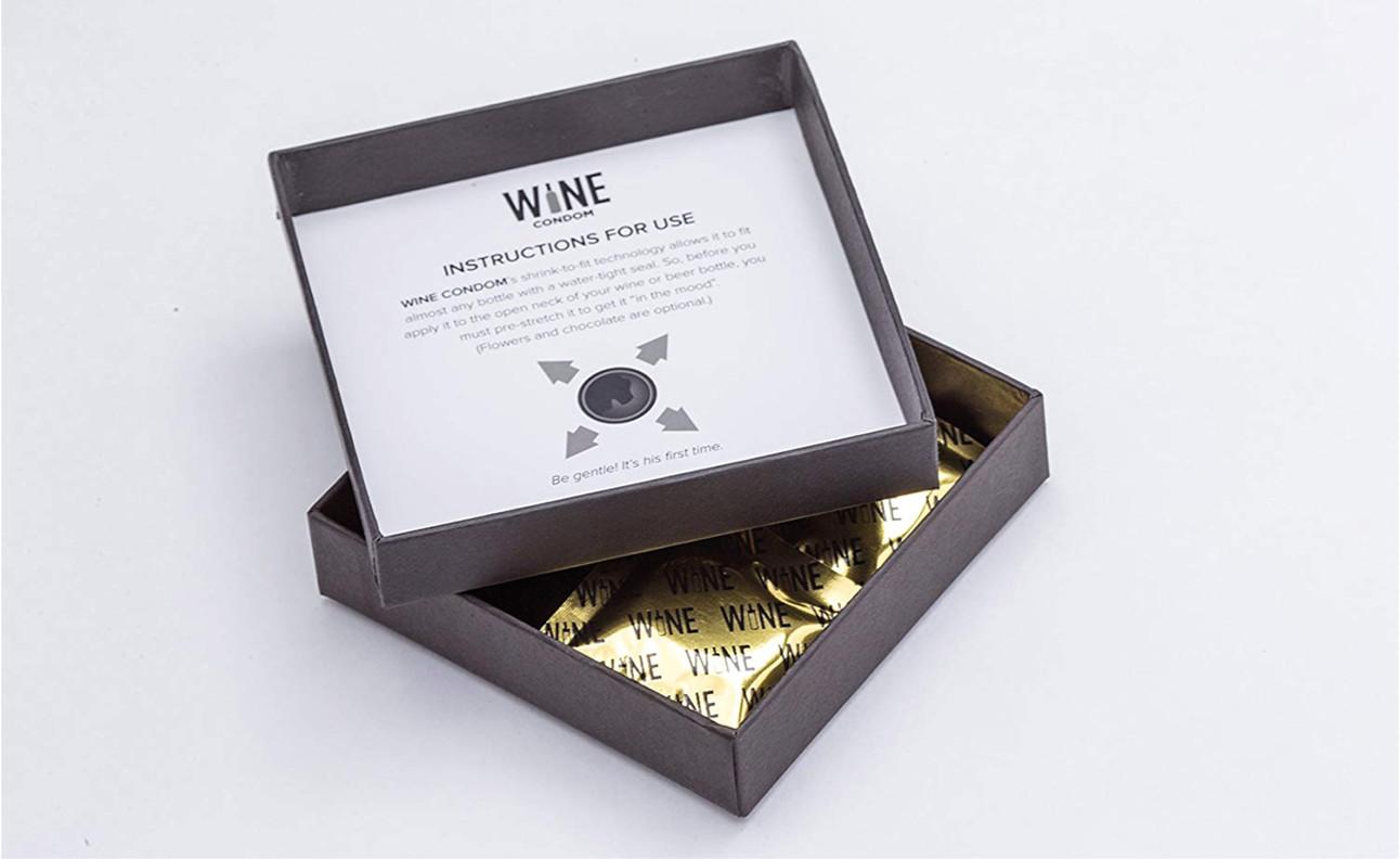 Wijn condooms