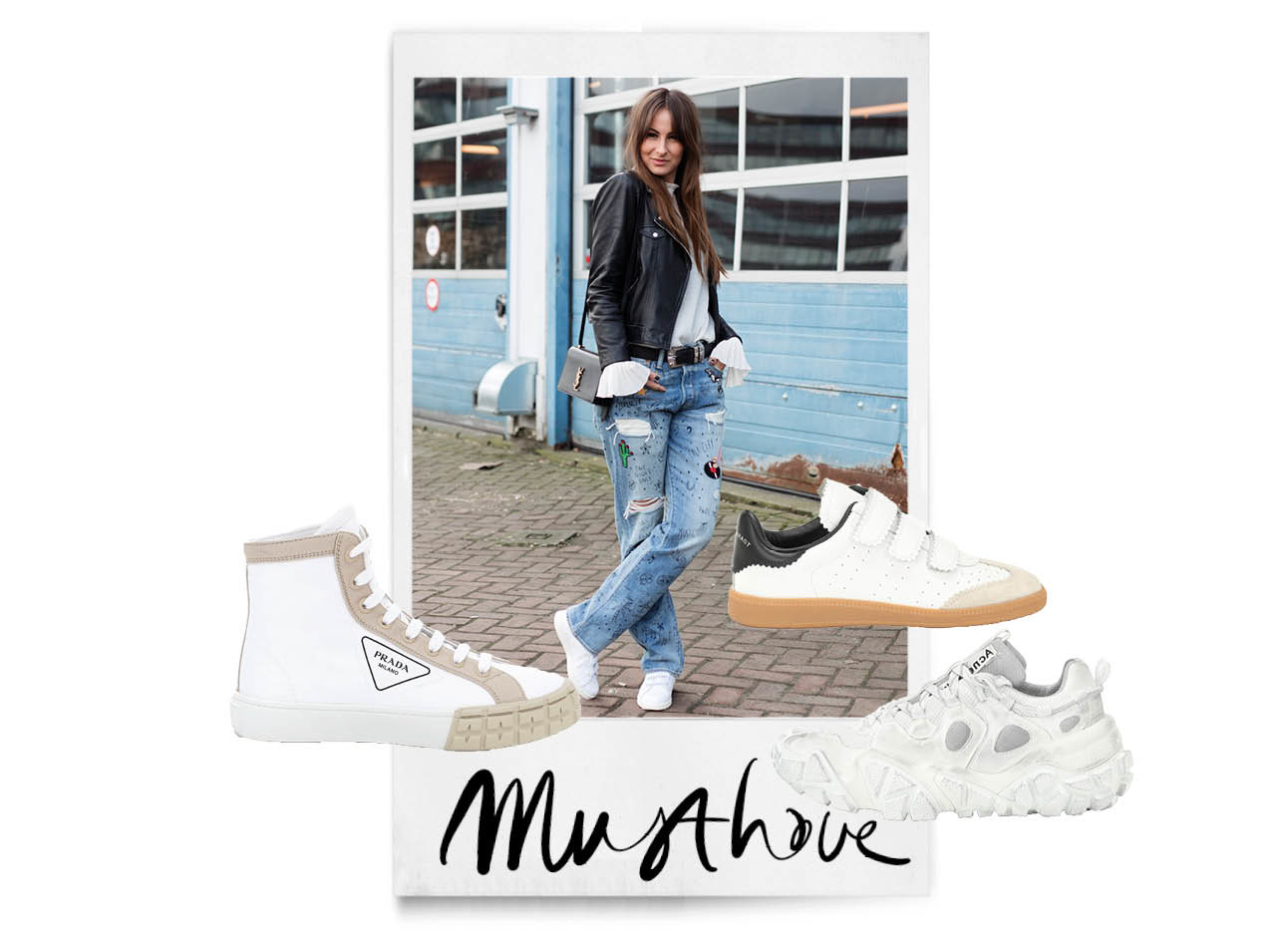 Leuke witte sneakers