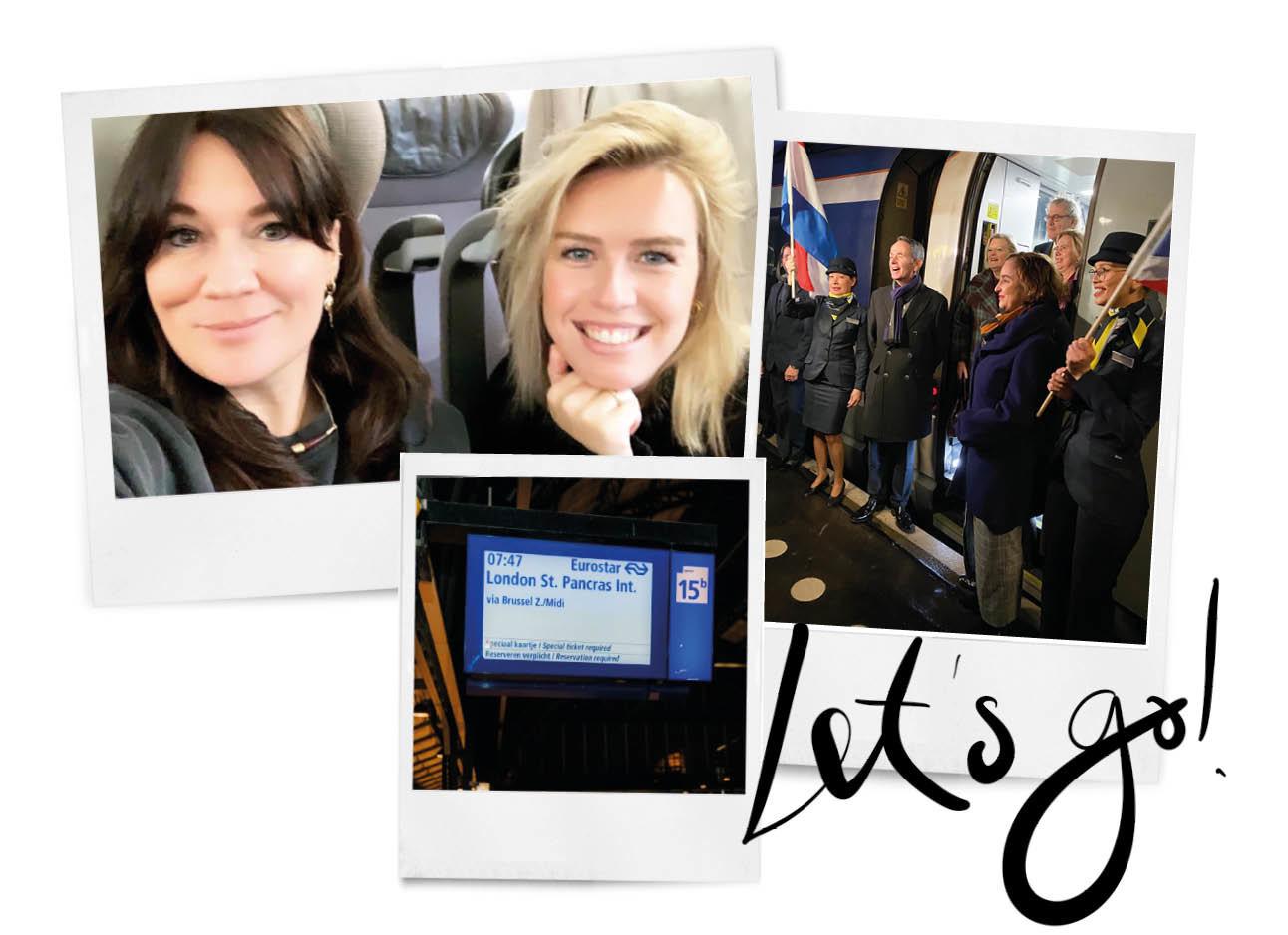 Treinreis naar Londen vanuit Amsterdam 2 vrouwen
