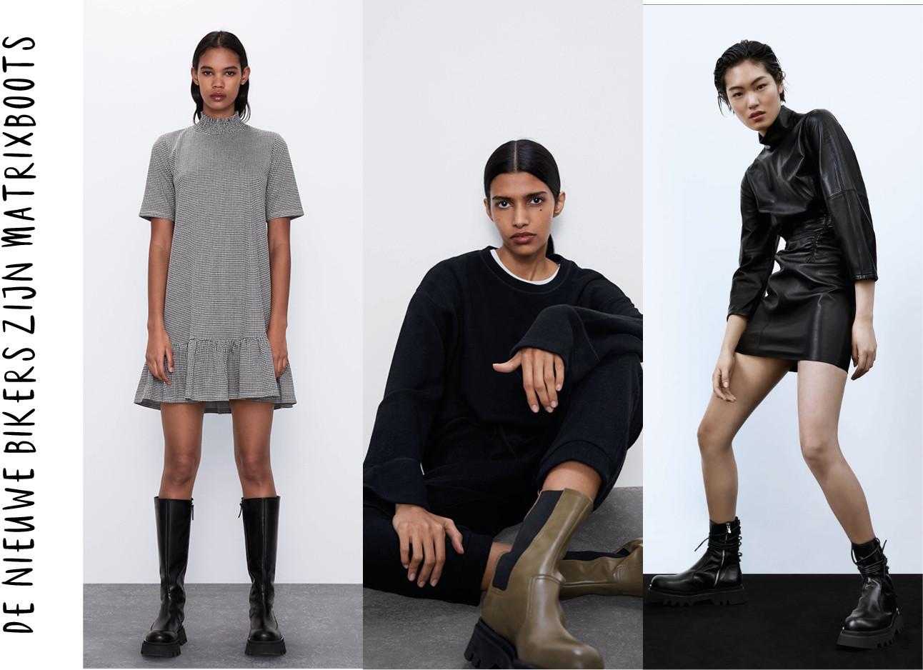beelden met kleding van de zara van hun website